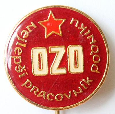 Odznak / Nejlepší pracovník podniku OZO