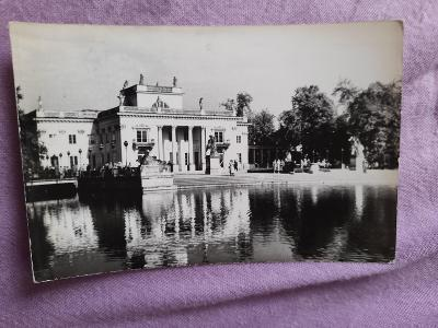 Pohlednice Varšava - Palac..,prošlé poštou