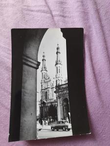 Pohlednice Varšava - K.Zbawiciela,prošlé poštou