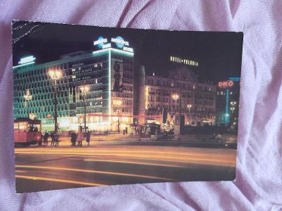 Pohlednice Varšava - Hotele Metropol i Polonia,prošlé poštou