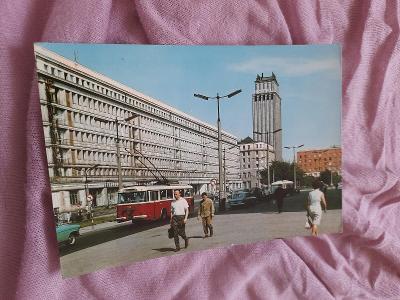 Pohlednice Varšava - Plac Powst.Warszawy,prošlé poštou