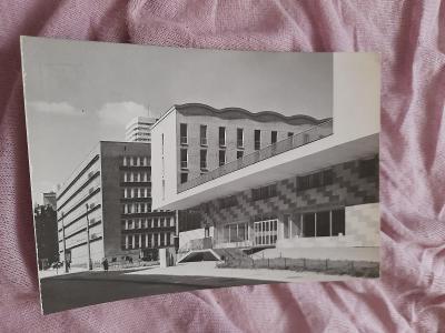 Pohlednice Varšava  - Dom Chłopa,prošlé poštou