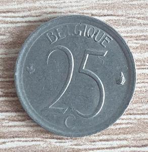 25 centů - Belgie - 1975