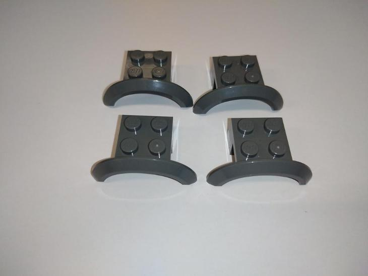 Lego díl 28579 - 4x blatník šedý - Hračky