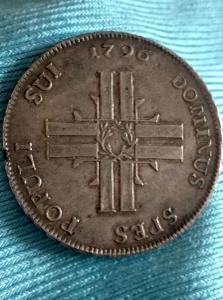 Švýcarský LUZERN 40 Batzen 1796