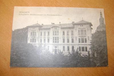 Český Tešín-Karviná-evangelický dívčí aluminát /klášter/-1905