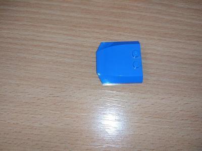 Lego díl 45677 - malá kapota modrá