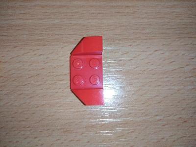 Lego díl 41854 - blatník červený