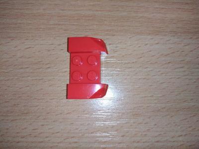 Lego díl 44674 - blatník červený