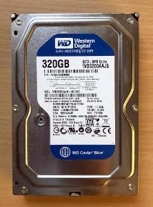 Western Digital Caviar Blue 320GB, WD3200AAJS, 7200RPM, SATA, 8MB