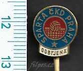 Sportovní odznak - Sparta  ČKD Praha odbíjená /FA-SC.702