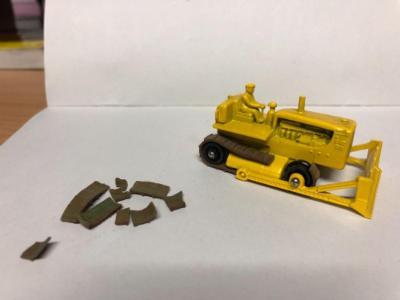 Matchbox RW 18c Caterpillar Bulldozer