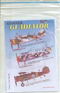 Gloster Gladiator 1/72 AML