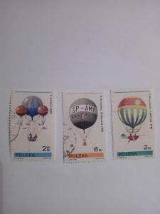 Známky, Polsko (balóny)