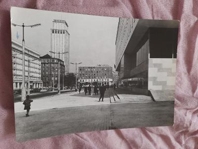 Pohlednice Varšava,r.1968,prošlé poštou