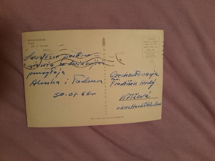 Pohlednice Swinoujšcie,prošlé poštou  - Pohlednice