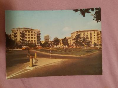 Pohlednice Varšava - Plac Komuny Paryskiej,prošlé poštou