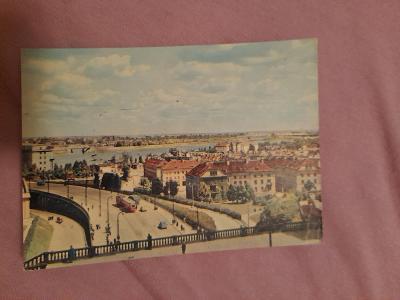 Pohlednice Varšava - Mariensztat,prošlé poštou