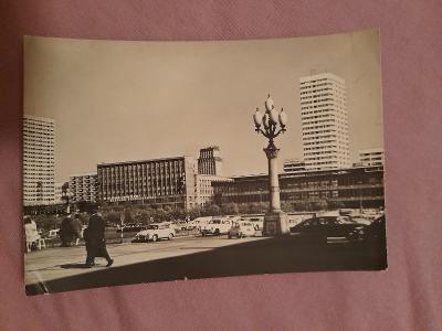 Pohlednice Varšava - Ulica Marszałkowska,prošlé poštou