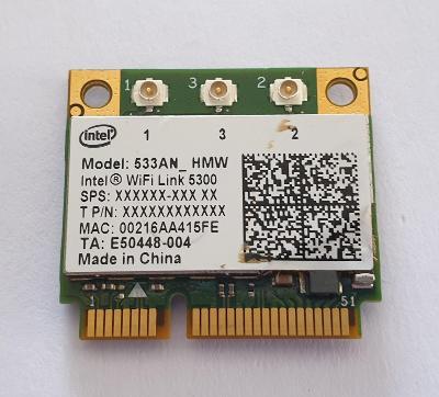Wifi modul Intel WiFi link 5300 / 533AN_HMW z Fujitsu LifeBook S6420