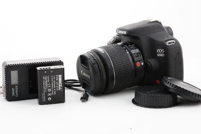 Zrcadlovka Canon 1200D + 18-55mm nová baterie