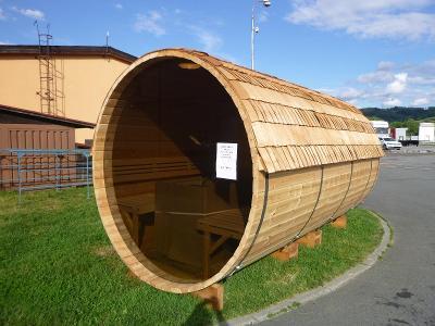 Sauna, finská sauna, barelová sauna, nová SKLADEM!