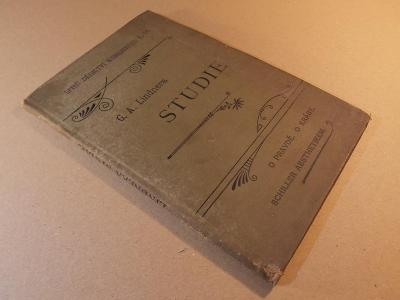 Lindnera G. A. STUDIE O PRAVDĚ, O KRÁSE (Schiller aesthetikem) 1897