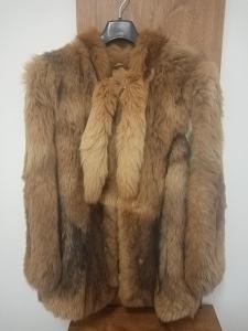 Dámský dívčí kožich bunda Mongolsky pes velikost 42