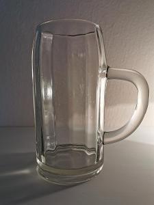 Starší pivní sklo TUPLÁK Německo