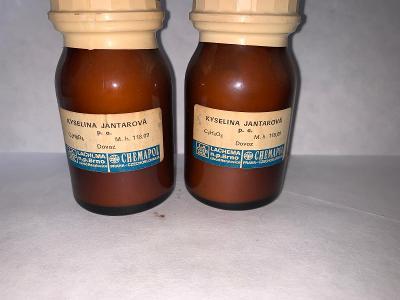 Kyselina jantarová p.a. (C4H6O4, 2x100g)