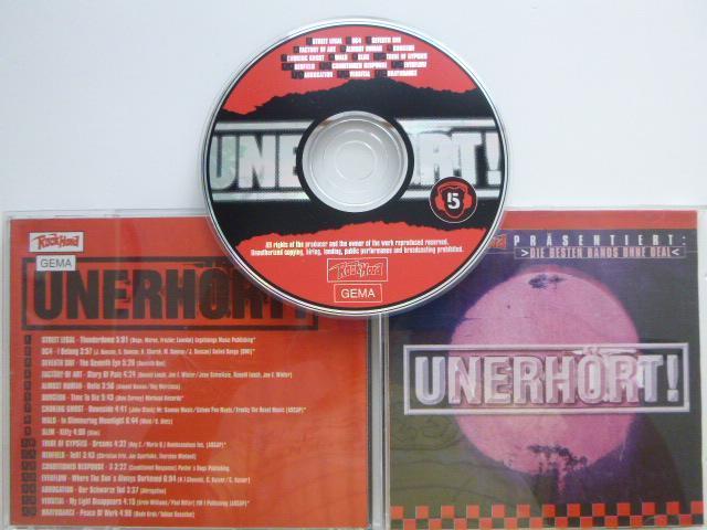 UNERHORT! 5/ STREET LEGAL DG4 SEVENTH ONE FACTORY OF ART DUGEON WALD - Hudba