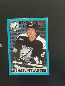 MICHAEL NYLANDER @ TAMPA BAY LIGHTNING @ Panini Stickers