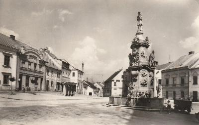 Počátky - Palackého náměstí, dříve o. Kamenice nad Lipou, MF , prošlá