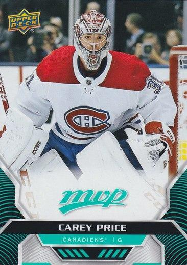Carey Price - Montreal Canadiens - UD MVP - SP