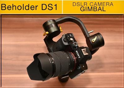 💥 Gimbal: IKAN DS1 Beholder **pro DSLR a Mirrorless do 1,7KG*TOP