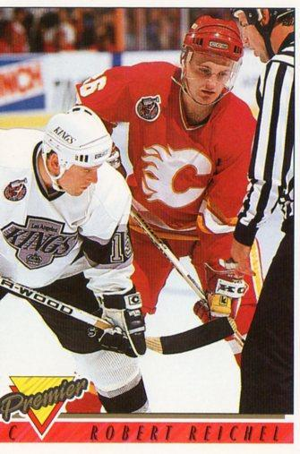 Robert Reichel - Calgary Flames - Topps Premier