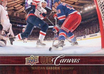 Marián Gáborík - New York Rangers - UD Canvas