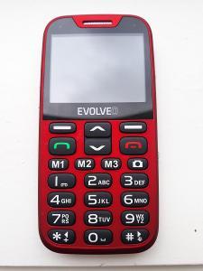 SENIORSKÝ MOBIL EVOLVEO EasyPhone XD se zárukou okamžité výměny