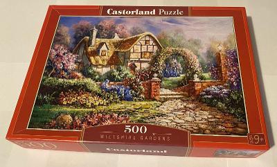 Puzzle Castroland - Wiltshirské zahrady (500 dílků)