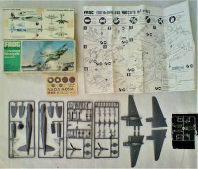 III._De Havilland Mosquito MK4 n. MK6_FROG_1/72
