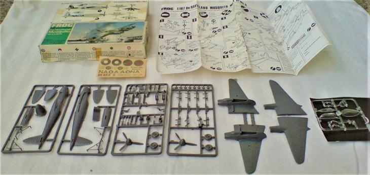 III._De Havilland Mosquito MK4 n. MK6_FROG_1/72 - Modelářství