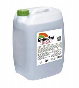 Monsanto Roundup 360 plus prostředek proti plevelům 20l + dárek