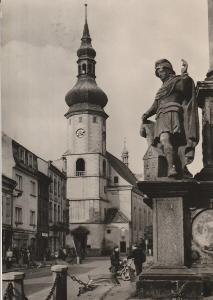 Sokolov - Náměstí 9. května, VF, prošlá