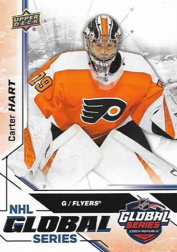 Carter Hart - Philadelphia Flyers - UD MVP - Global Series Czech