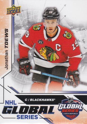 Jonathan Toews - Chicago Blackhawks - UD MVP Global Czech