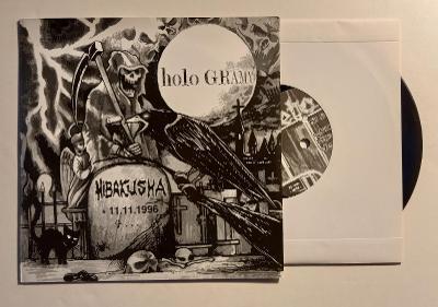 "HIBAKUSHA/ VETO - 7""EP GRINDCORE METAL THRASH PUNK CRUST"