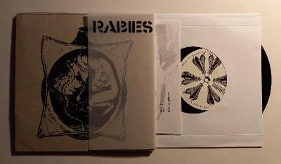 "RABIES/KLUTZ - 7""EP HARDCORE EXTREME PUNK THRASH POWER VIOLENCE"