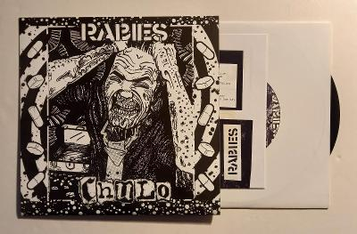 "RABIES/CHULO - 7""EP HARDCORE EXTREME PUNK THRASH POWER VIOLENCE"
