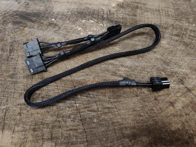 Originální MOLEX kabel pro zdroje EVGA G+