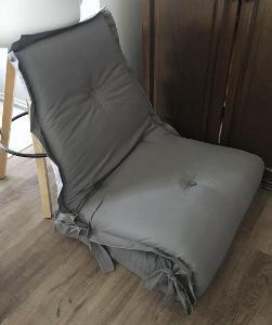 Rozložitelná matrace křeslo postel přistýlka os.odběr75x195cm PC1800Kč
